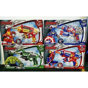 Arma Brinquedo Pistola Nerf Dardo Vingadores Modelos Barato
