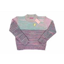 Pullover Sweater Nena Sueter Niña Nucleo Pin Regalosdemama