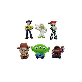 Toy Story Pluma Decoración Caps 6 Piezas Set # 1