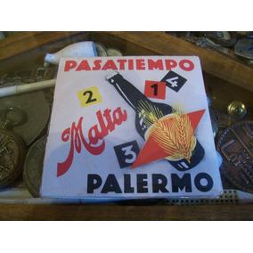 Malta Palermo Antiguo Juego De Mesa Publicitario