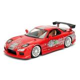 Mazda Rx7 Toretto Velozes E Furiosos Escala 1/24 Jada
