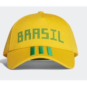Bone Fita Adidas Amarelo - Calçados 6f4599044e8