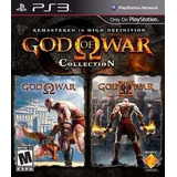 Ps3 God Of War 1 E 2 Collection Hd Envio Ja Play3