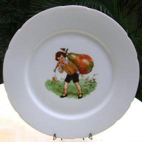 plato infantil nio pera gigante porcelana checa no envo