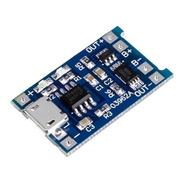 Modulo Cargador Tp4056 Micro Usb 5v 18650 Con Protección