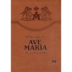Bíblia De Estudos Ave Maria