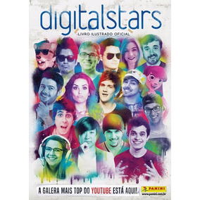Álbum Completo Digital Stars (youturbers) - 260 Figurinhas