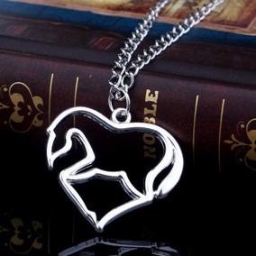 Hermoso Collar Con Caballo Y Corazón