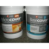Microcemento Antiquiebre + Base Niveladora Fib+ Laca 12 M2