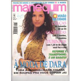 Revista Manequim Nº433 - Jan 1996 - Tereza Seiblitz C/moldes