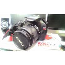 Canon Dslr Eos Rebel T3 + Lente 18-55 - Caixa Original