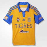 Jersey Local Tigres Uanl Niño T M (11-12) Futbol Soccer Polo