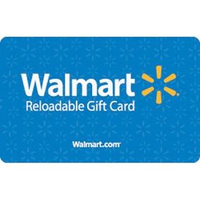 Tarjetas Regalo Walmart en Mercado Libre México