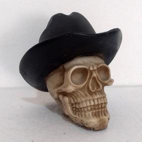 Crânio P Com Chapéu - Caveira - Esqueleto - Várias Cores 06321a4350c