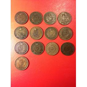 Monedas Argentina 2 Centavos Cobre/ Serie, Excelente Estado