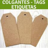 Etiquetas Cartón, Colgantes, Tarjetas Tags