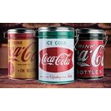 Latas Coca Cola Con Cierre Hermetico! Varios Modelos.