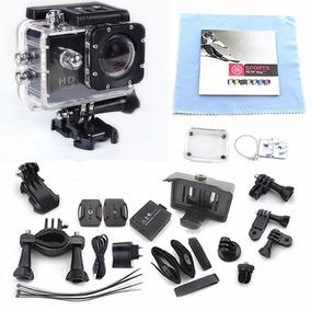 Câmera Action Go Sport Cam Pro Ultra Hd Prova Dágua + Brinde