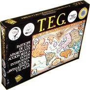 Teg Clásico Negro Juego De Estrategia Original De Yetem
