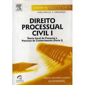 Livro Direito Processual Civil V.1 Carlos Eduardo Guerra