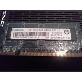 Memoria Ram Ddr2 Laptop 1gb 1rx8 666 Ramaxel