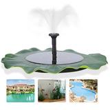 Fuente De Agua Flotante, Solar, Para Plantas/jardín