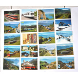 20 Tarjetas Postales: Trenes De Suiza : Rigi- Bahnen (#1862)