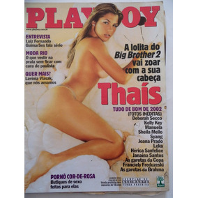Revista Playboy Thaís N° 330 Jan/2003