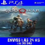 God Of War Ps4 Digital | Full Latino Jugá Con Tus Usuarios