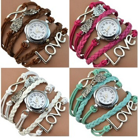 71486dcc62f Relógio Euro Bivalves Quartzo Rosa Ou Cinza - Relógios no Mercado ...