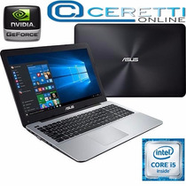 Notebook Gamer Asus X555lf-bra-xx184t Core I5 6gb 1tb
