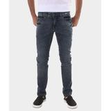 Calça Jeans Reta Azul Tnt