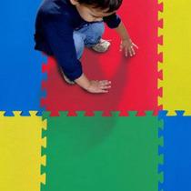Kit Com 20 Placas 50x50 Tatame Eva Infantil Varias Cores