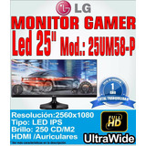 Monitor Led Ips Lg 25 25um58-p Ultrawide Full Hd 2560x1080