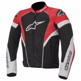 Chamarra Moto Alpinestars Air T-gp Plus Negro/rojo Talla L
