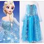 Fantasia Infantil Elsa 7 Anos