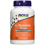 Now Foods L-tirosina 500mg, 120-capsulas