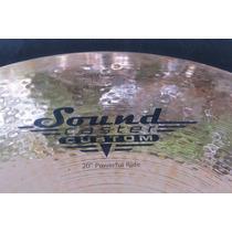 Prato Meinl Soundcaster Custom Powerful Ride 20