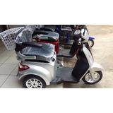 Triciclo Elétrico Idoso Deficiente Cor Prata ( Parc 60x*)