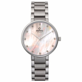 Reloj Obaku V189lxc Madre Perla Original Dama Y Envío Gratis