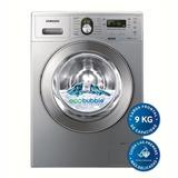 Lavarropas Samsung 9kg 1400 Rpm Gris - Outlet - Wf1904wpu
