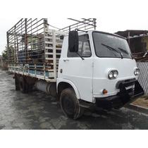 Caminhão Fiat 80 Com Direção Hidraúlica