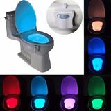 Luz Led De Colores En El Inodoro Sanitario Body Sensing