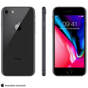 Iphone 8 Cinza Espacial 4,7 , 4g, 64gb, 12 Mp - Mq6g2br/a