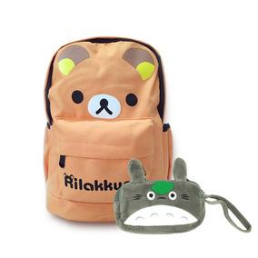 Pack Mochila Y Estuche Totoro - Kawaii - Envío Gratis