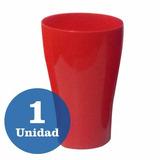 Vaso Plastico Gigante Conico 850cc Fluo Colores Resistente