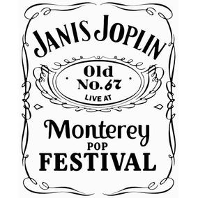 Camiseta Janis Joplin - Cod23