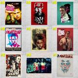 Poster Cartaz Clube Da Luta Fight Club Tyler Durden A3