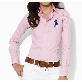 Genial Camisa Blusa Polo Ralph Lauren Big Pony Mujer Dama