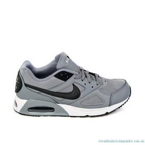 Tenis Nuevos Originales Casual Nike Air Max Ivo Gris